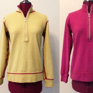 Tommy Bahama   Reversible Half Zip Sweatshirt